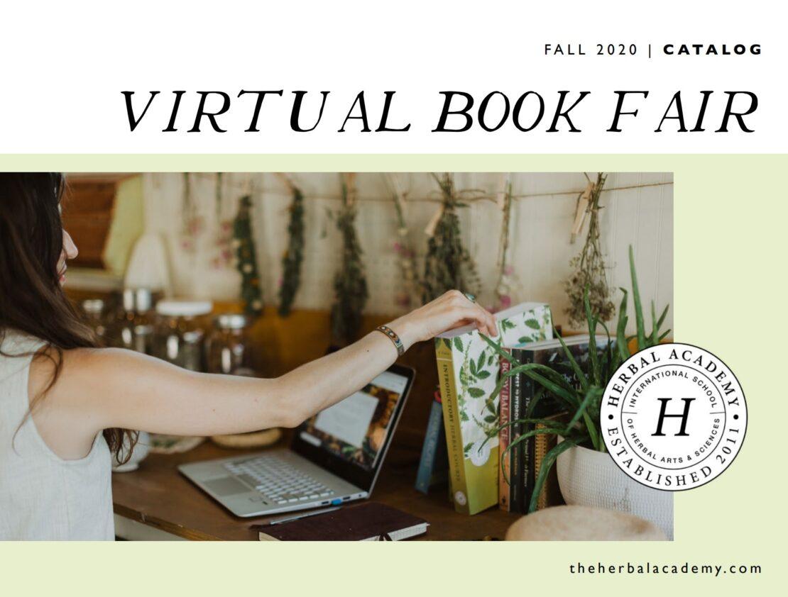 Herbal book fair catalog cover