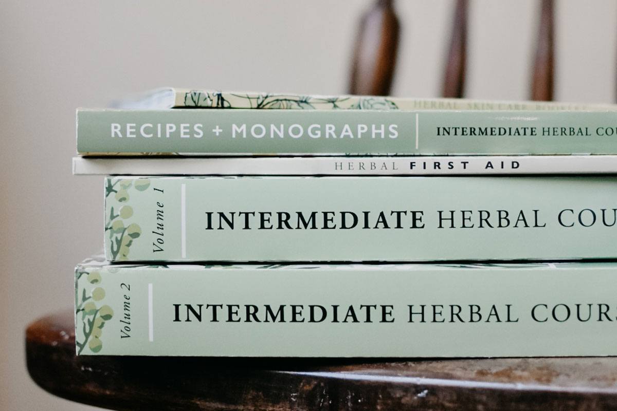 Herbal Academy Intermediate Course Textbooks