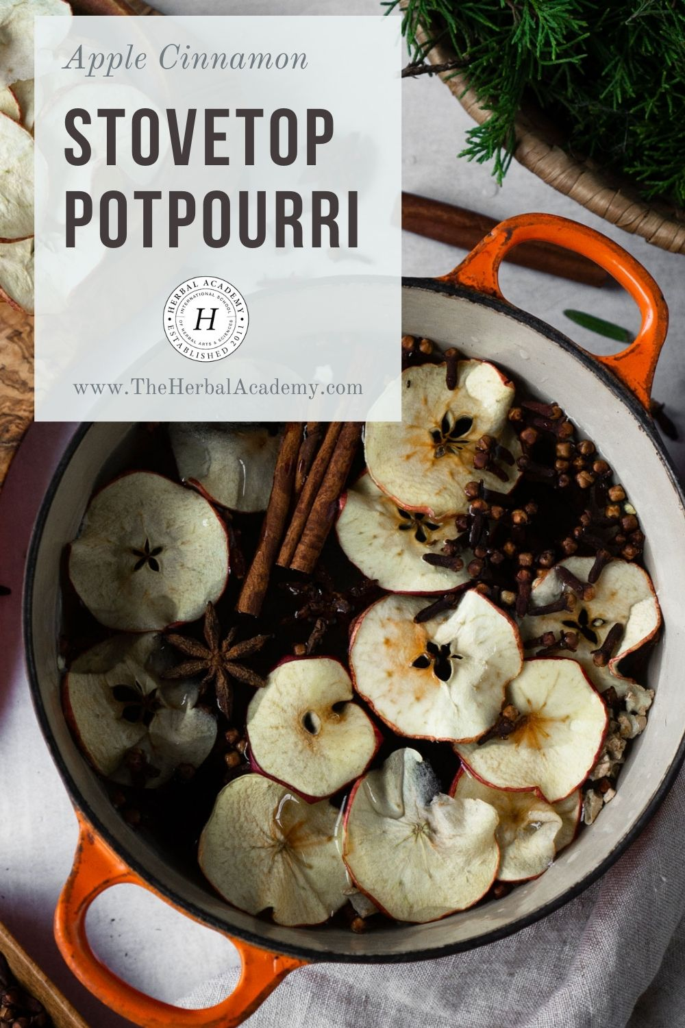 Apple Cinnamon Stovetop Potpourri Recipe