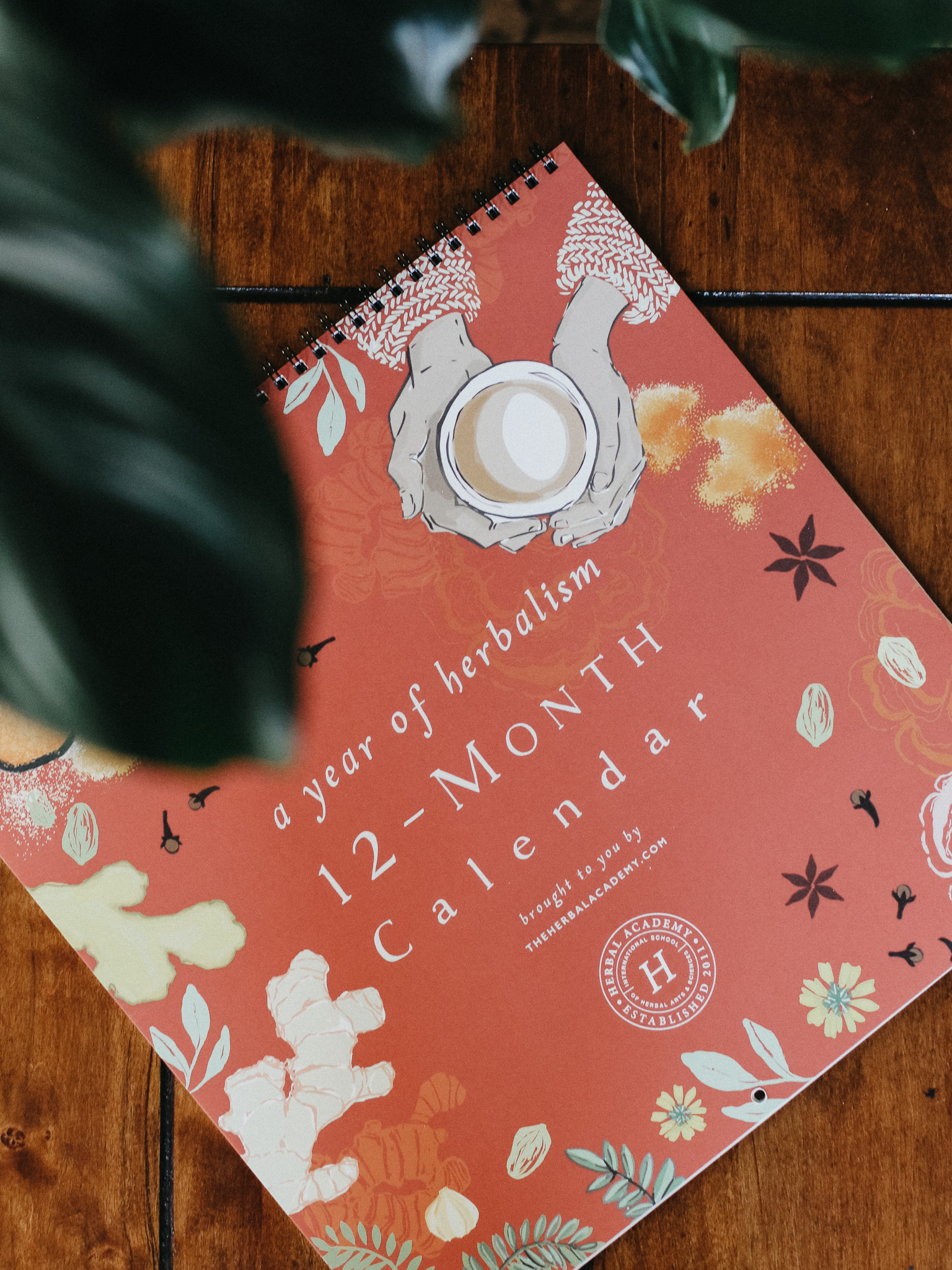 Herbal Academy calendar is one of our favorite gifts for herbalists