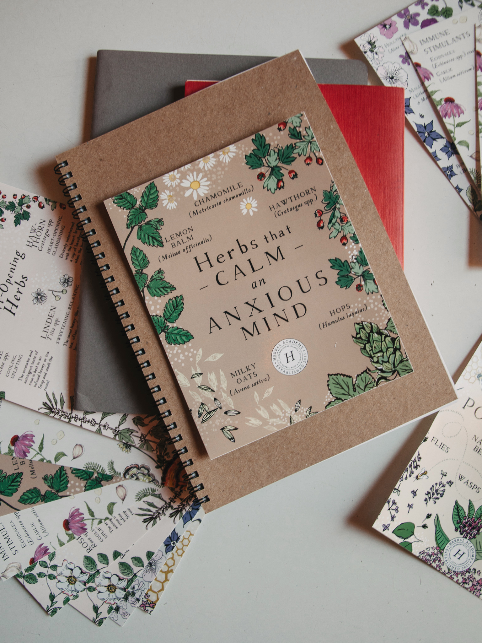 Herbal Academy's Instagram posts in print is one of our favorite affordable gifts for herbalists