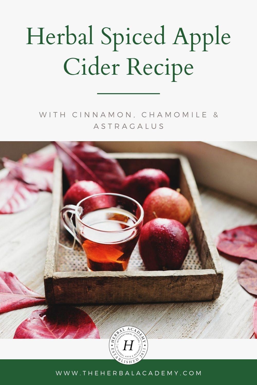 Herbal Spiced Apple Cider Recipe