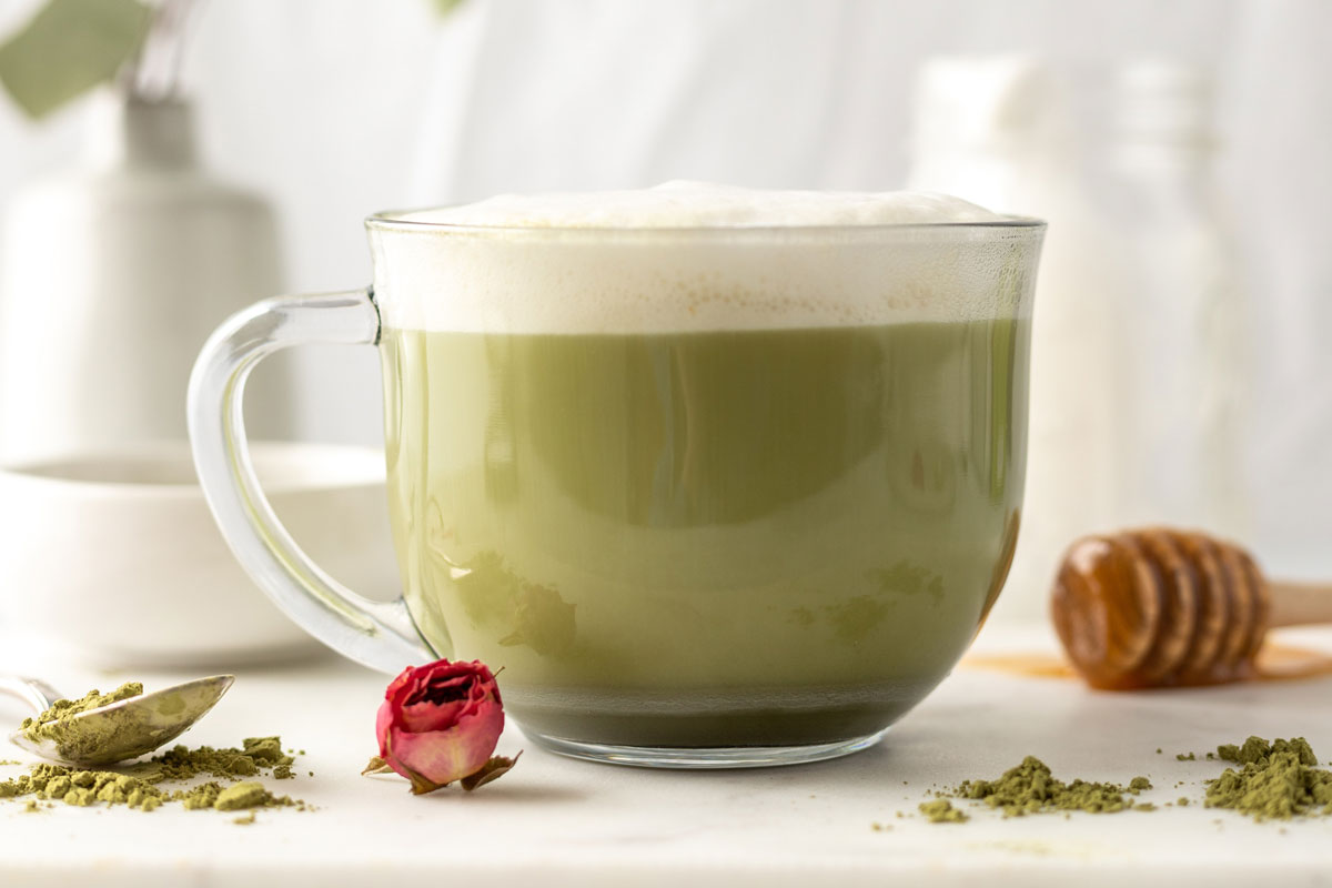 Matcha is a wonderful herbal tea blend for morning