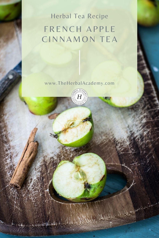 French apple cinnamon tea