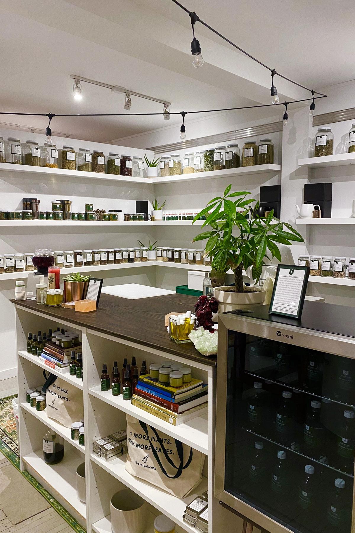 The Herbal Scoop herb store