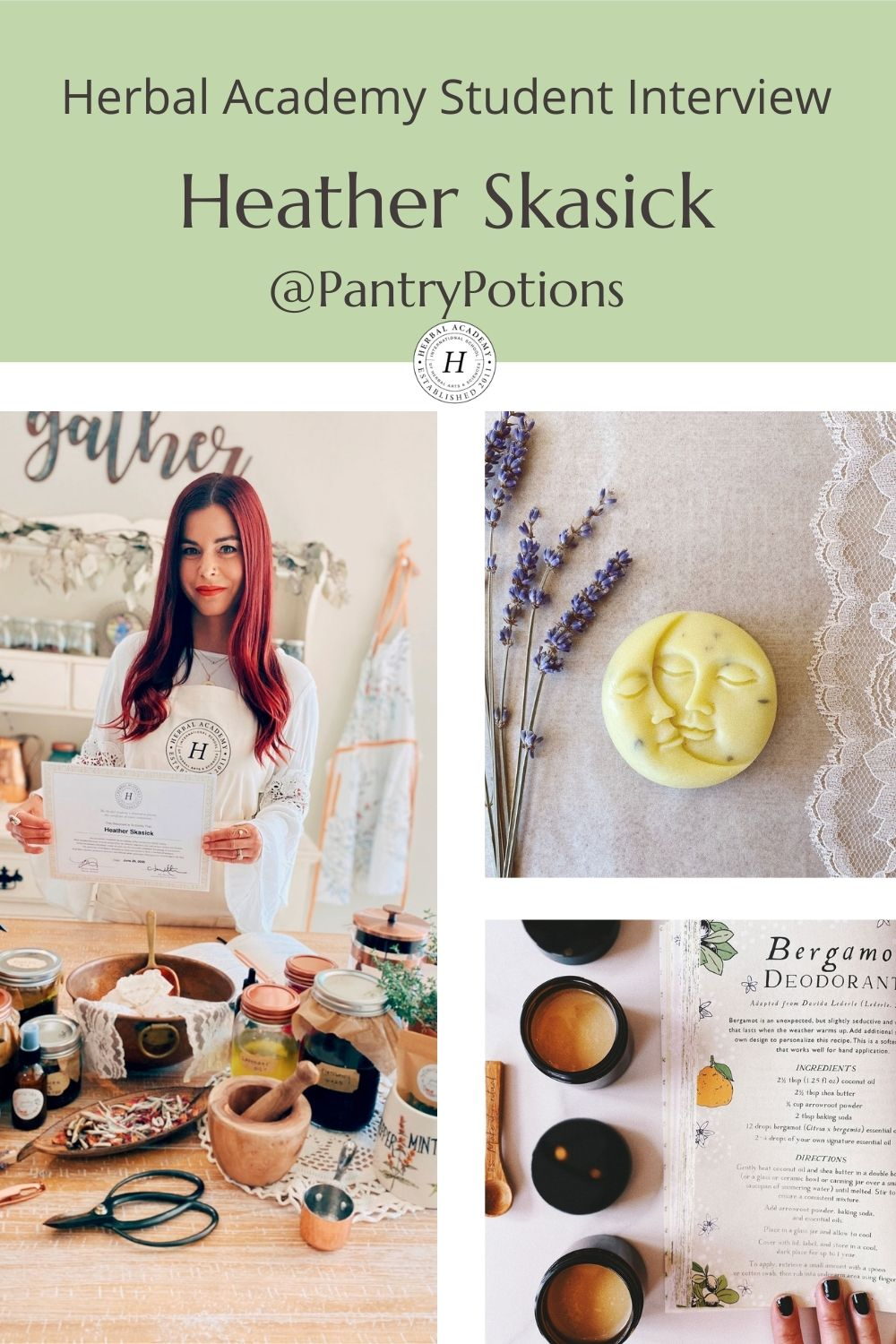 Heather Skasick Pantry Potions Pinterest Graphic