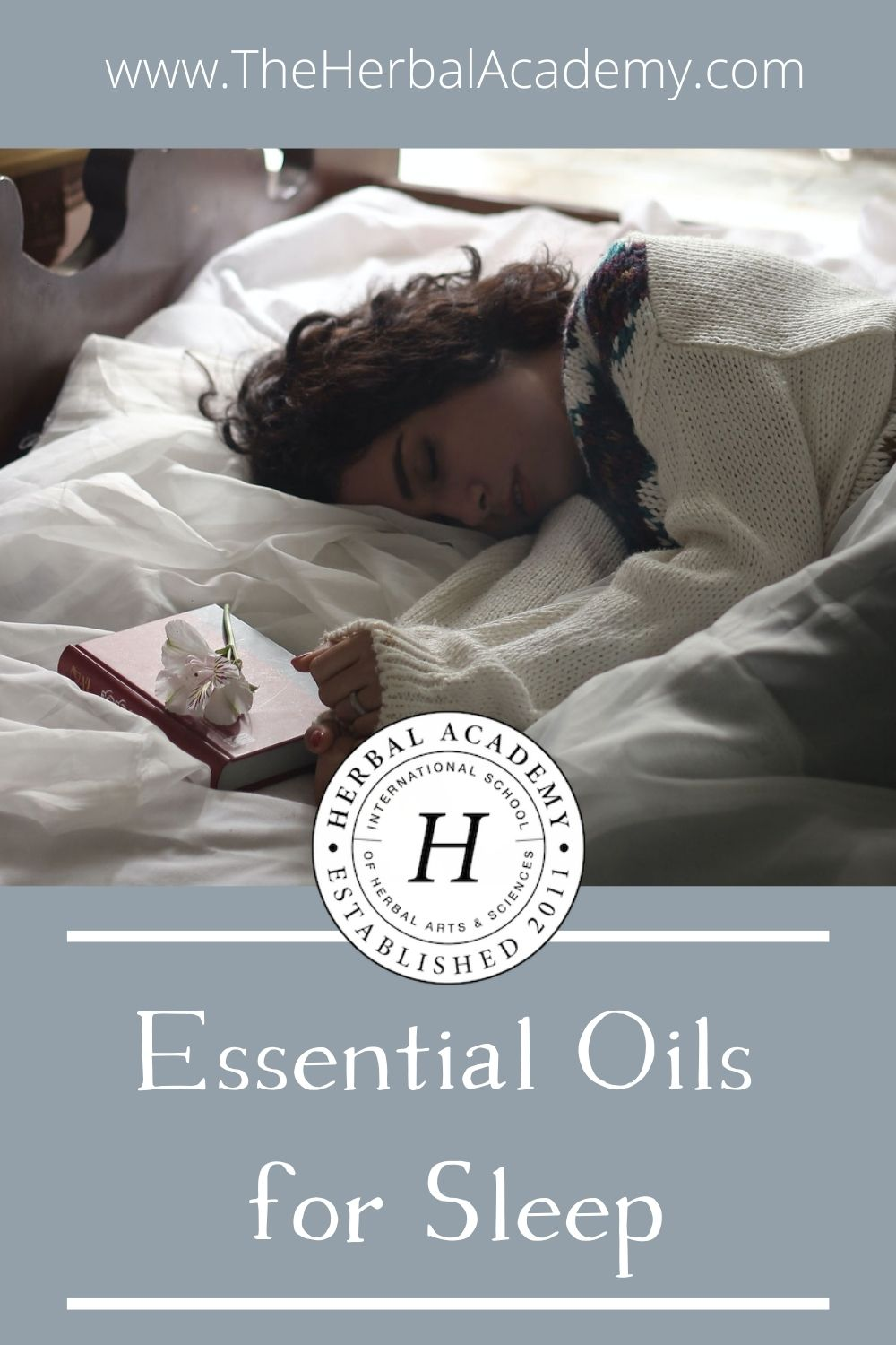Essential Oils for Sleep: Aromatherapy and Insomnia | Herbal Academy | Find tips for using essential oils for sleep support, plus a summary of the most recent scientific findings on aromatherapy and insomnia.
