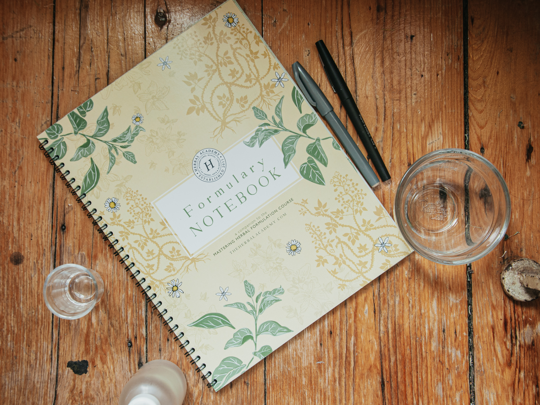 Formulary Notebook for Mastering Herbal Formulations Course