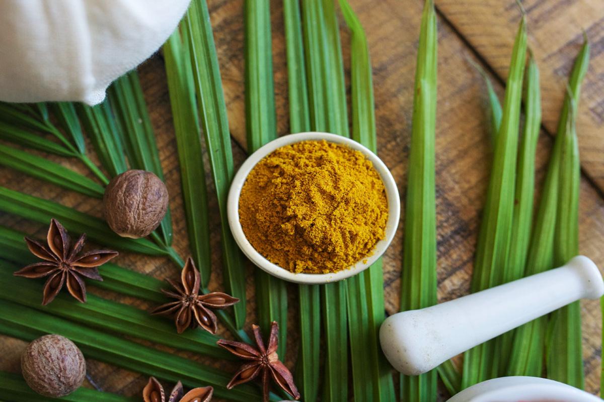 powdered turmeric to boost immunity