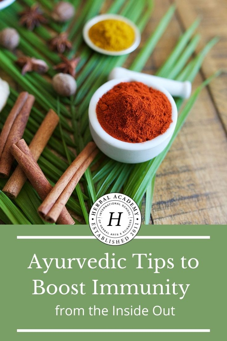 Ayurvedic Tips to Boost Immunity from the Inside Out | Herbal Academy | If you are inclined toward natural approaches to boost immunity, you will find this article full of Ayurvedic tips especially helpful!