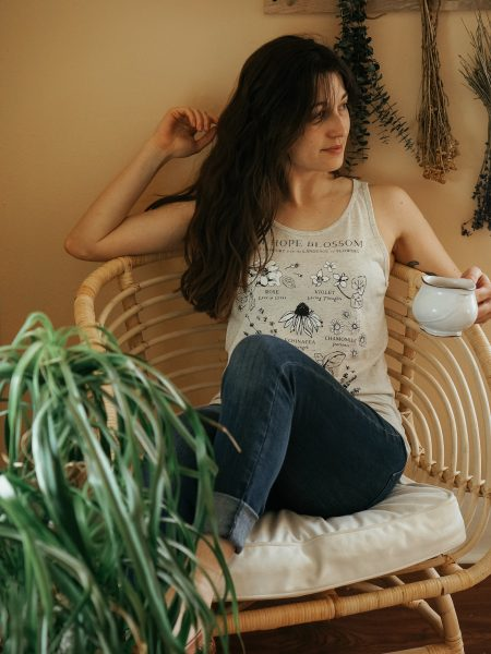 Let Hope Blossom Botanical Tank by Herbal Academy