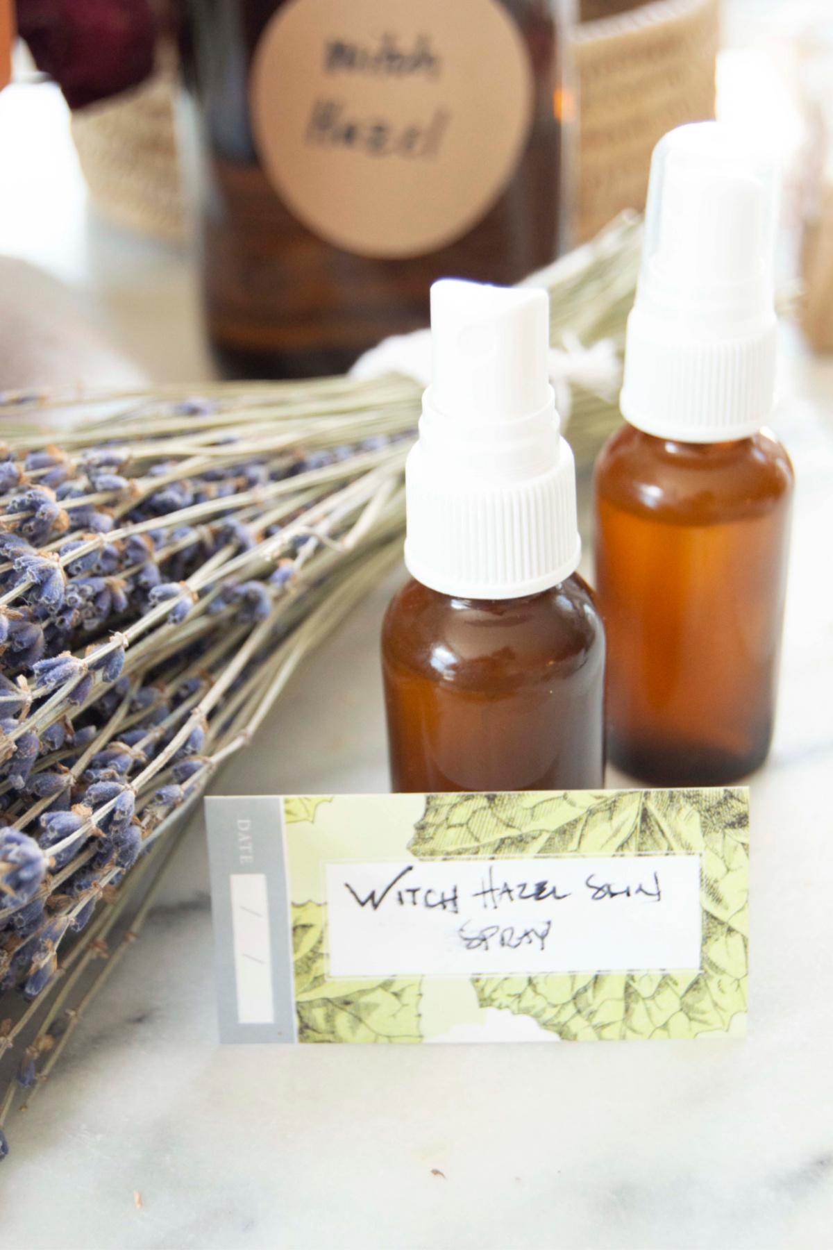 witch hazel skin spray ingredients