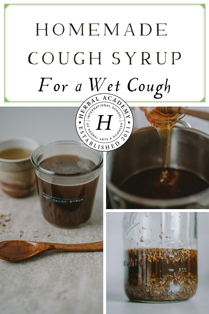 Homemade Cough Syrup for a Wet Cough | Herbal Academy | Learn how to easily prepare your own homemade cough syrup, including some well-known respiratory supporting herbs for the colder months!