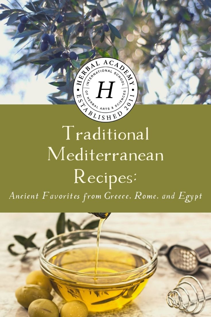 Ancient Mediterranean Recipes: Favorites from Greece, Rome, and Egypt | Herbal Academy | The ancient Greeks, Romans, and Egyptians were incredibly creative with their resources. Check out these traditional Mediterranean recipes!