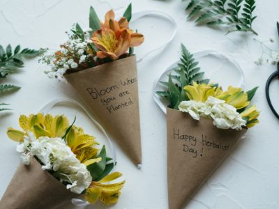 A Floral Craft Project to Celebrate Herbalist Day | Herbal Academy | Herbalist Day is the perfect opportunity to thank the herbalists in your life. This floral craft project is sure to bring a spark of joy to your local herbal friends.