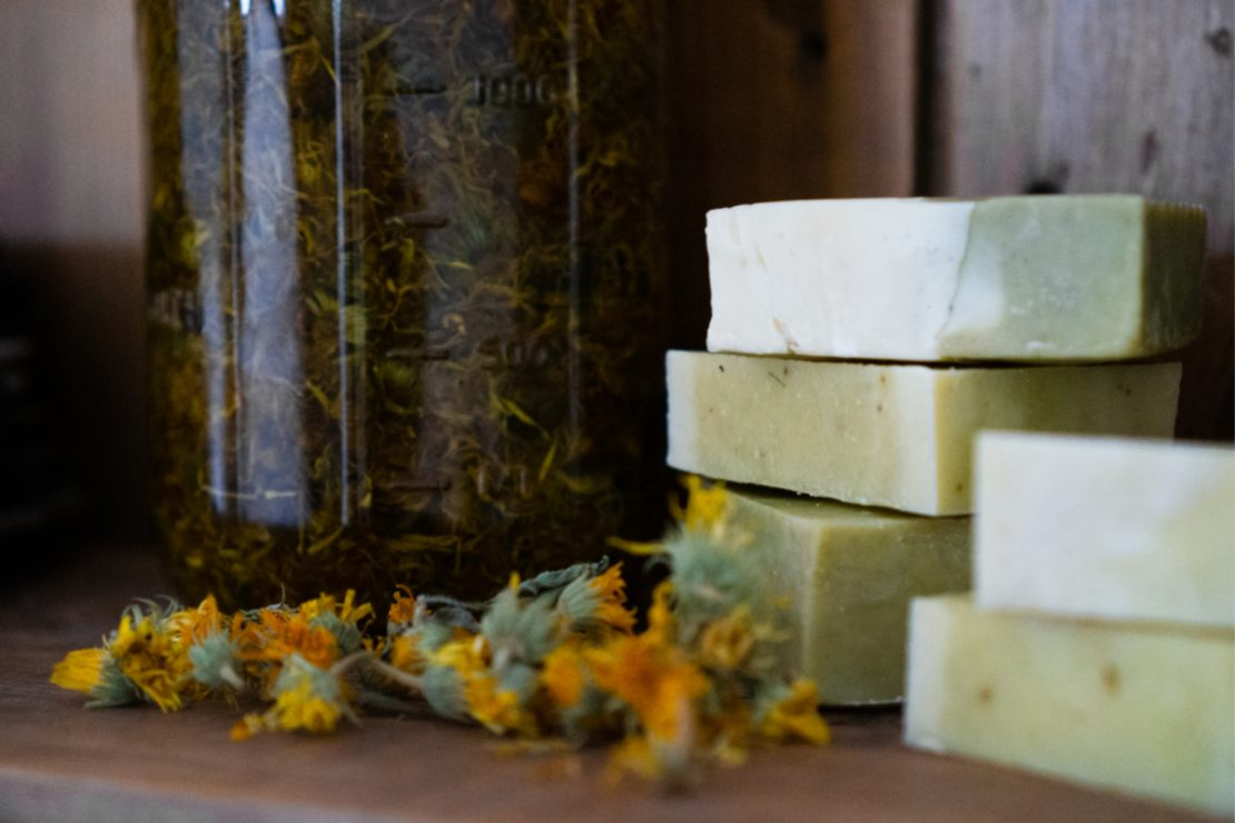 Herbal Soap Recipe for Eczema | Herbal Academy | If herbal skincare formulation is something you enjoy, check out this soap recipe for eczema! Crafting your own soaps is meditative and fun.
