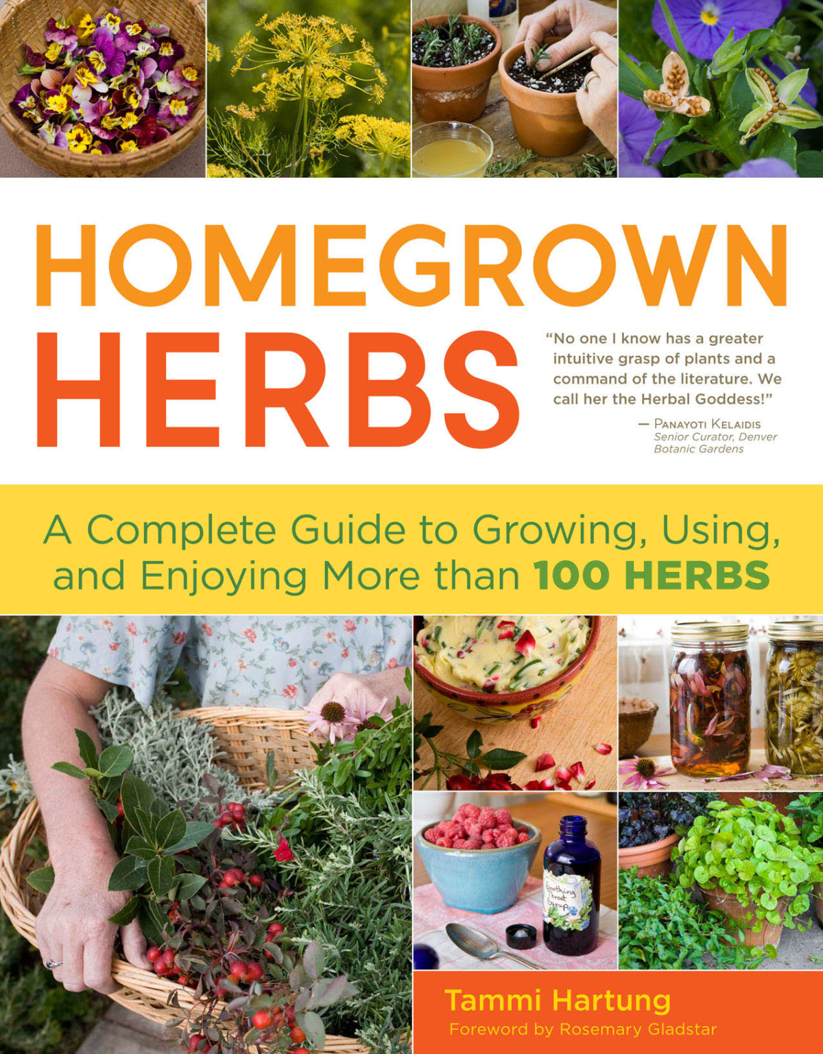 Homegrown Herbs book by Tammy Hartung
