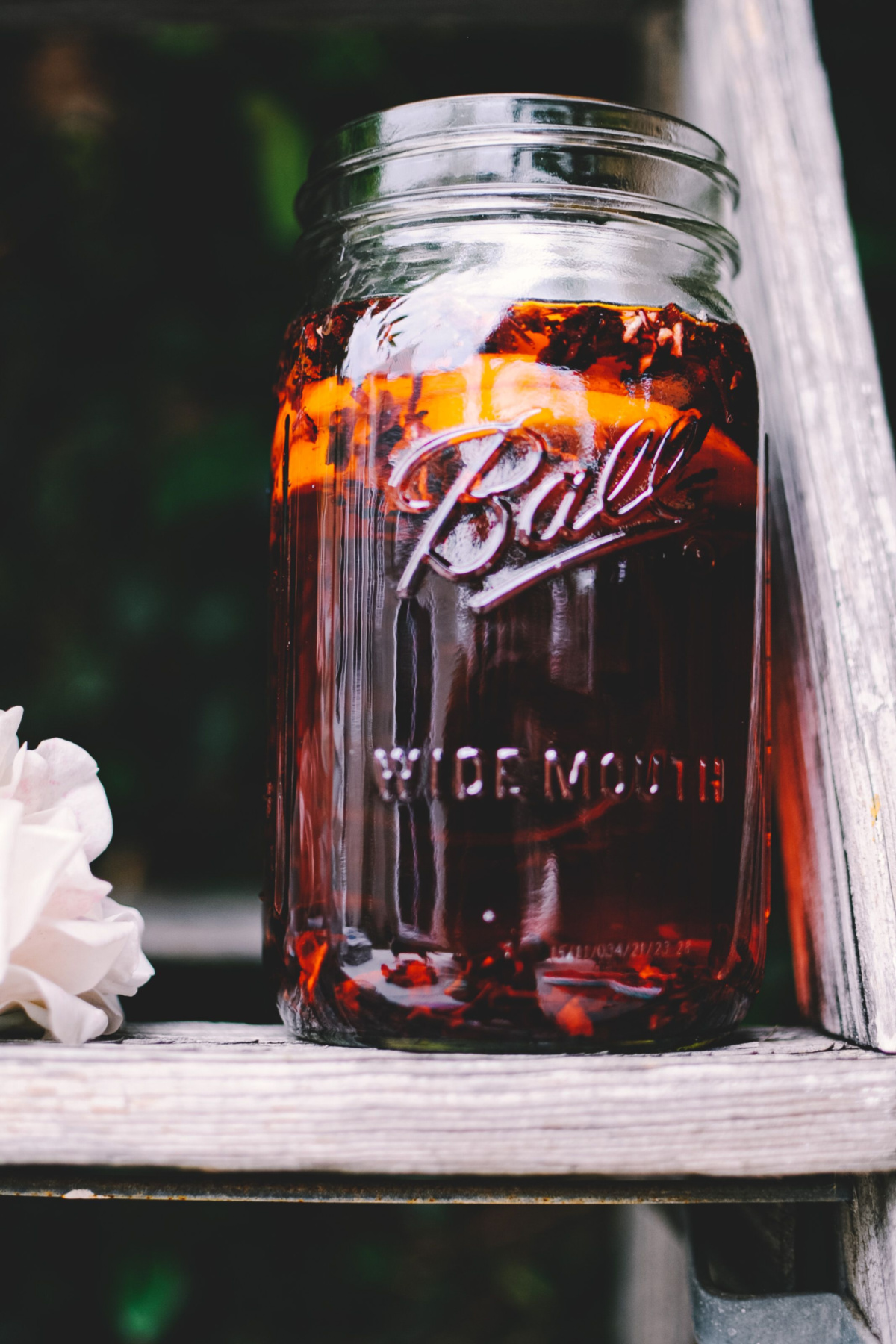 herbal paradise punch recipe in a jar