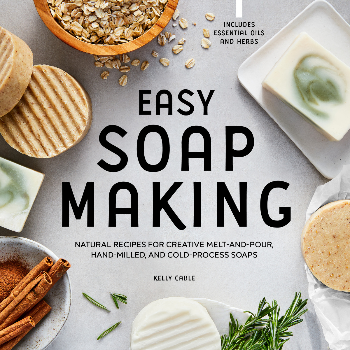easy soap making graphic