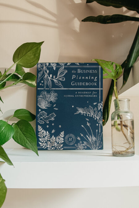Business Planning Guidebook - hardcover companion to the Business Herbal Course