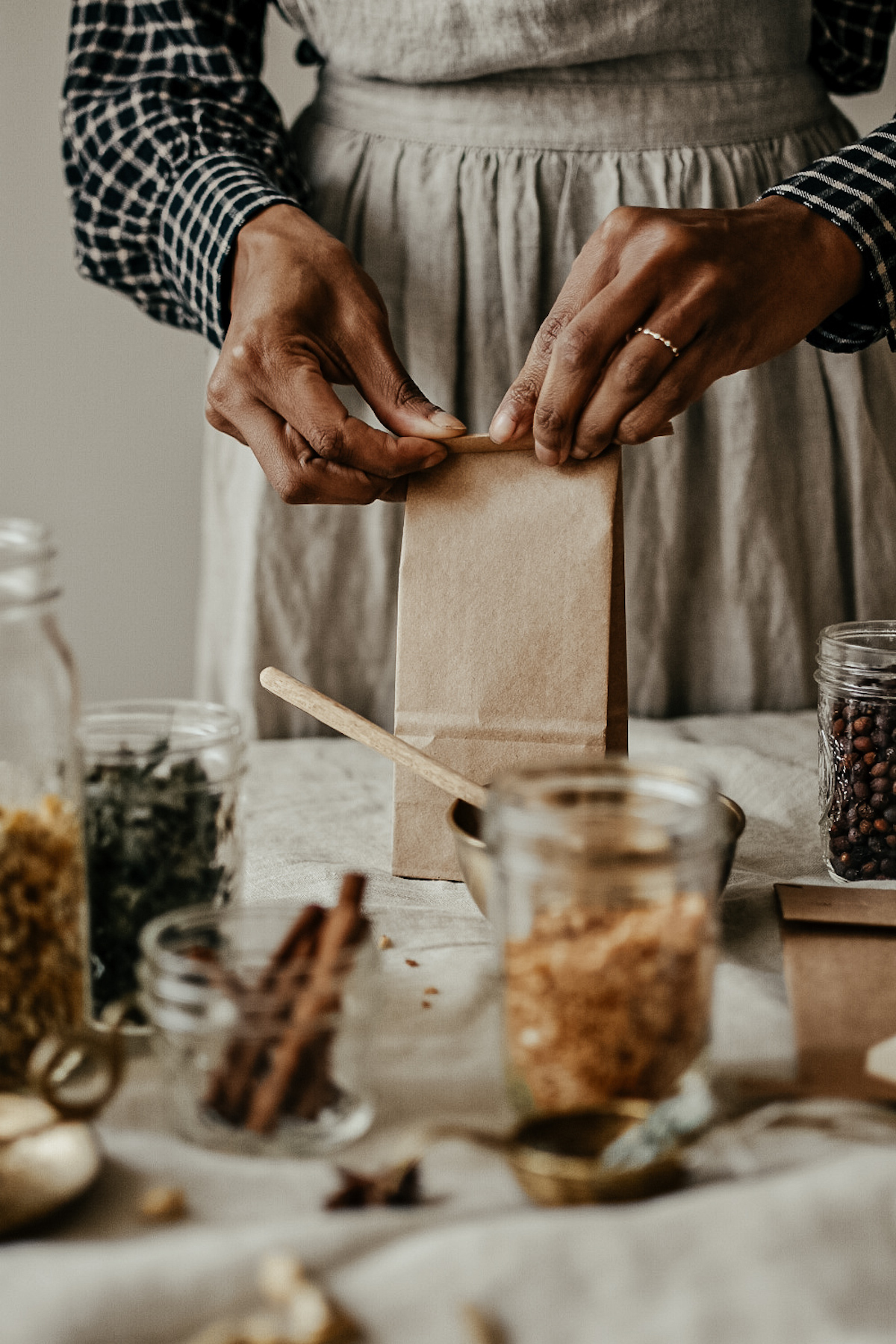 Business Herbal Course - tea blend with HA tea bags