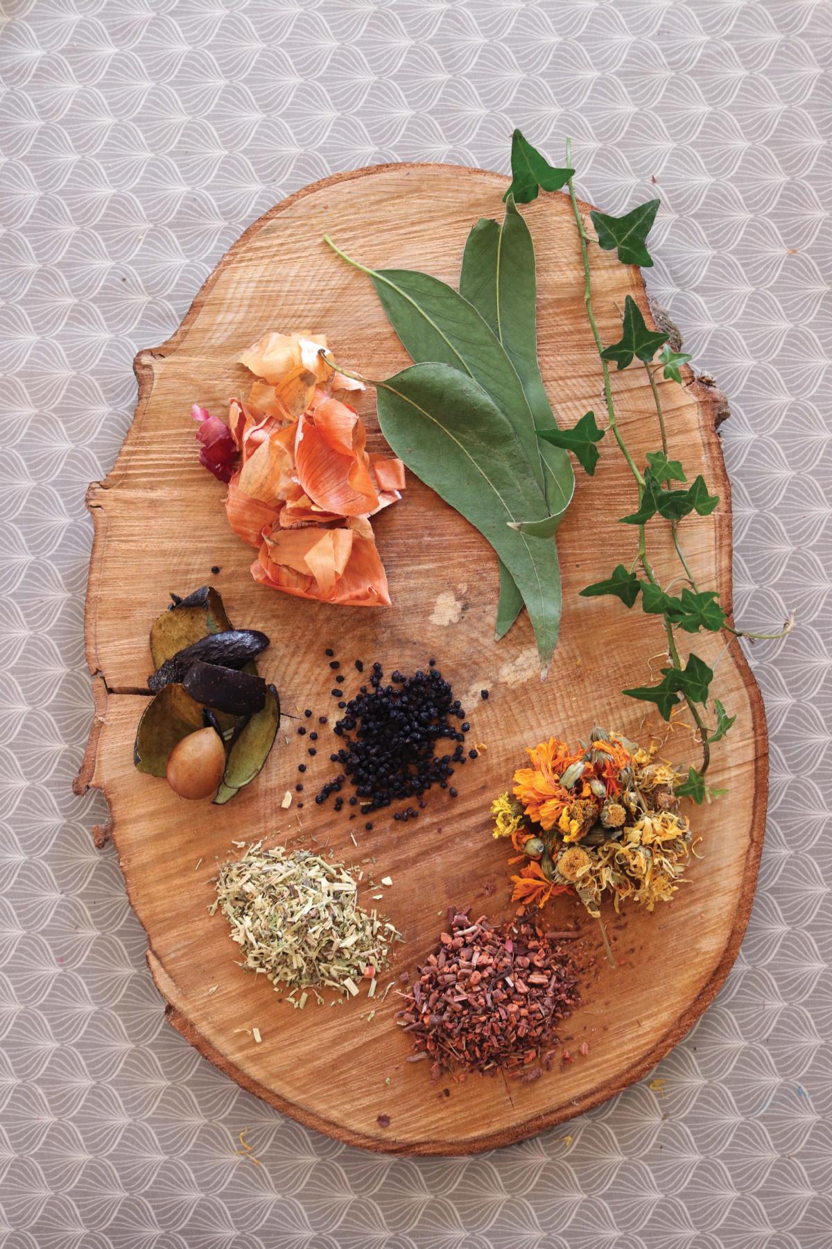 natural dye plants