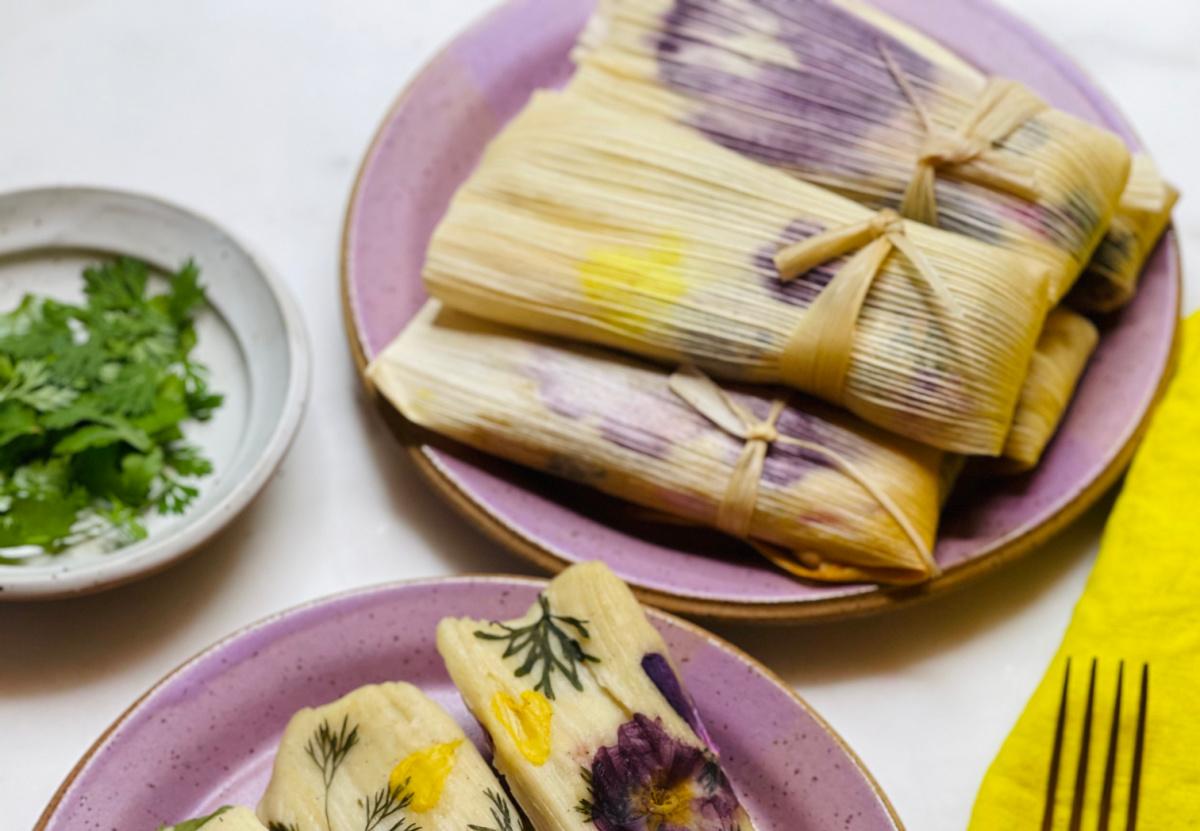 botanical vegan tamales