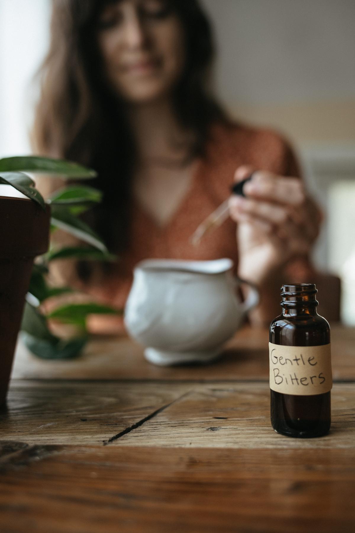 Becoming an Herbalist =gentle bitters