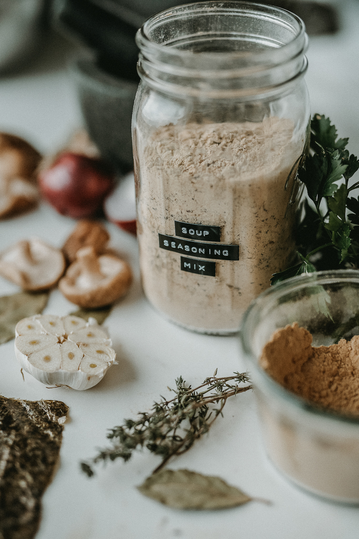 Healthy Weight and Nutrition - Unit 9 Advanced Herbal Course nourishing herbal soup seasoning mix8 SM credit @plantifultaste, HA Commercial Use