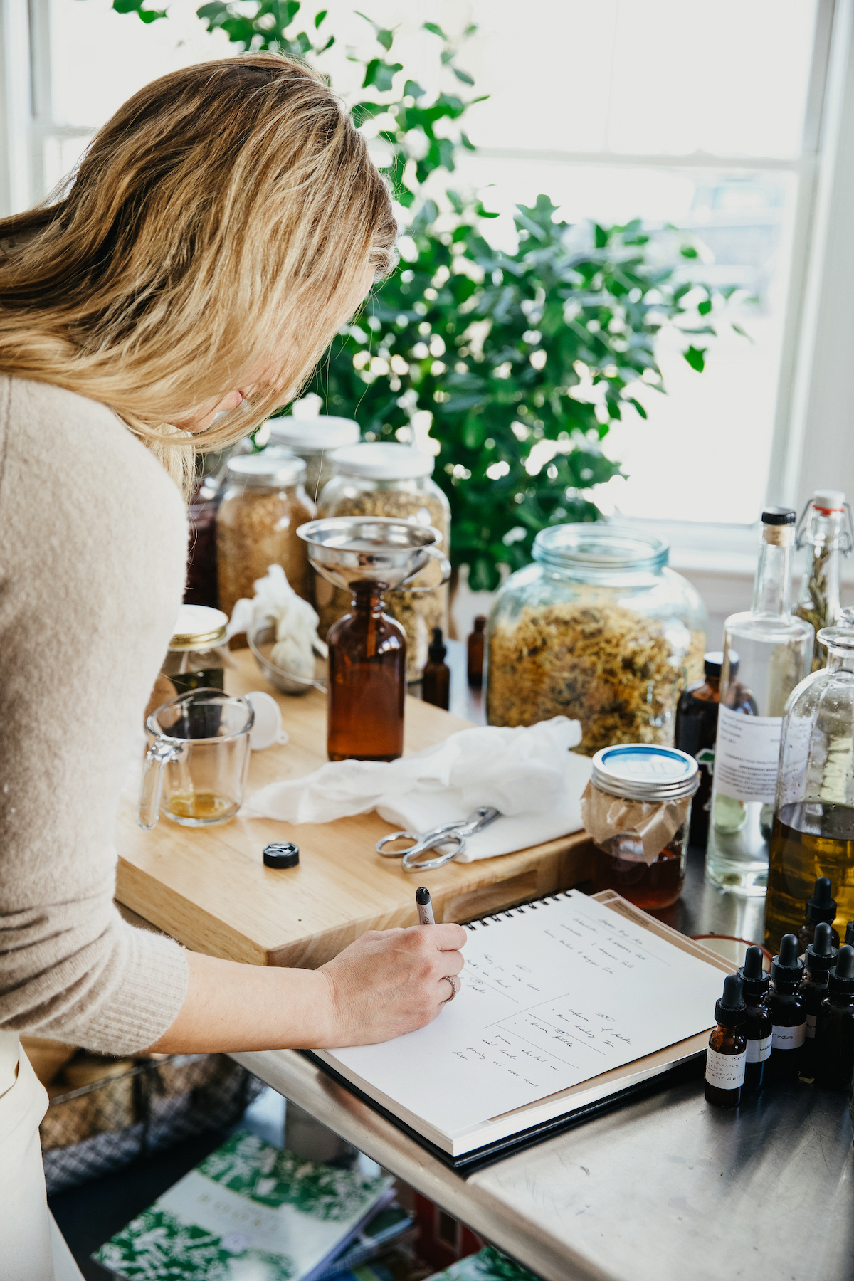 Making Herbal Products for sale - Advanced Herbal Course