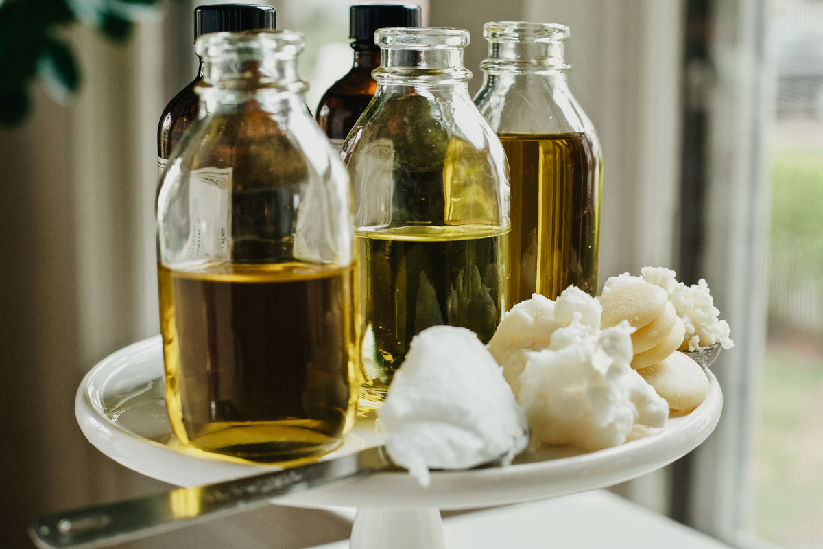 carrier oils and butters