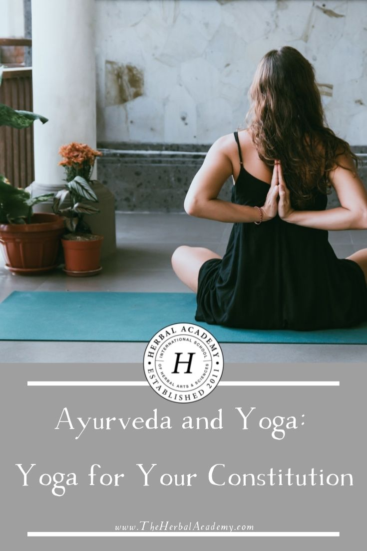 Ayurveda and Yoga: Yoga for Your Constitution | Herbal Academy | Learn a new perspective on Ayurveda and yoga—how you can bring a deeper awareness to yoga by looking through the lens of Ayurveda.