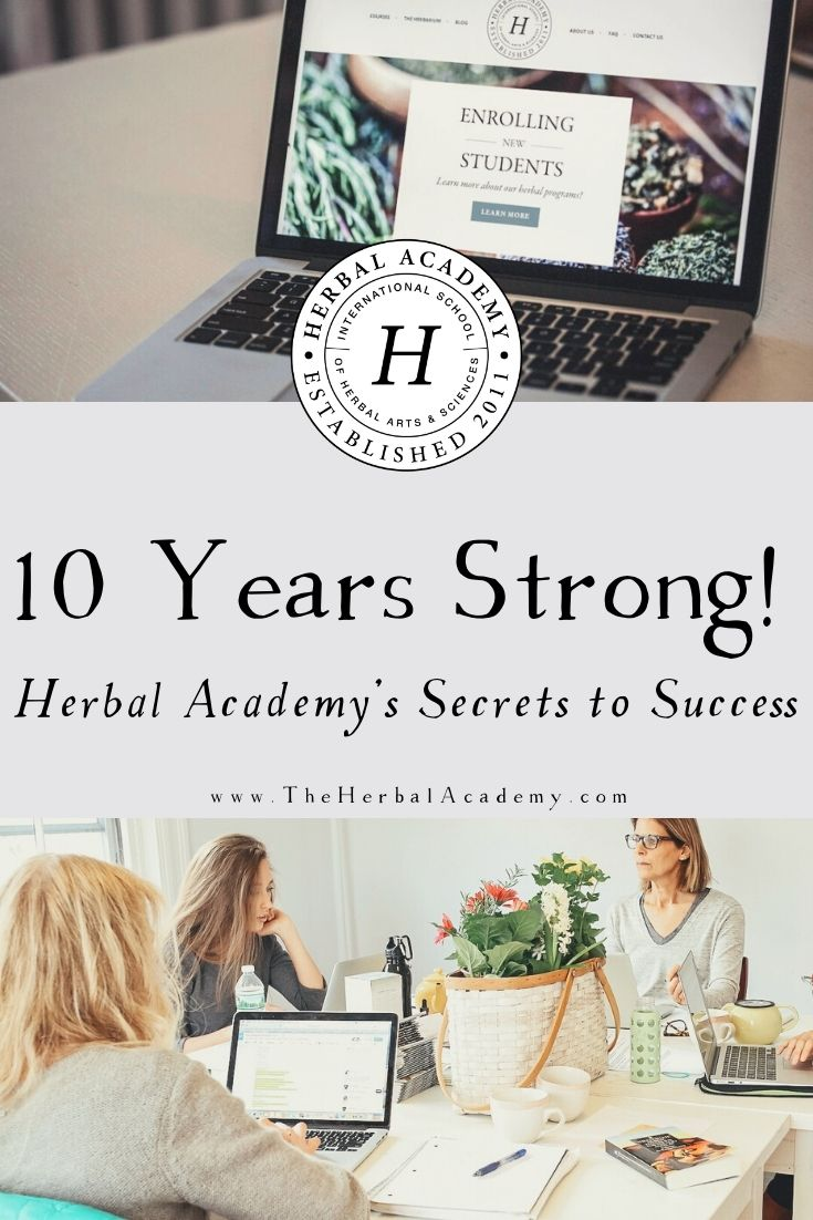 10 Years Strong! Herbal Academy's Secrets to Success | Herbal Academy | We're celebrating our 10-year anniversary at the Herbal Academy! Here are two secrets to success we've learned over the past decade.